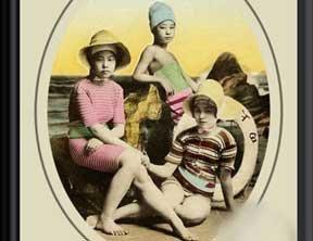 旧时日本泳装超乎想象的保守