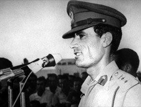 影像回顾:中东强人卡扎菲