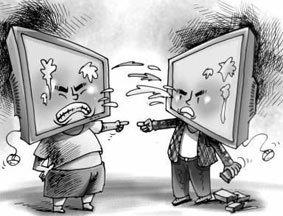 网络人身攻击现象普遍 理性观点常被淹没