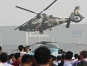 我陆航直升机精彩炫技