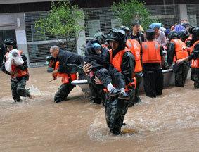 四川巴中上千民众紧急转移