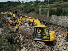 陇海铁路因三门峡水害已中断19小时