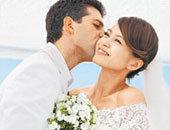 梁咏琪与西班牙男友完婚