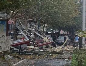 西安科创路与太白路十字发生爆炸事件