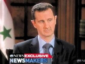 叙利亚总统否认下令杀平民