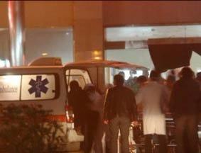 孩子被送到医院抢救