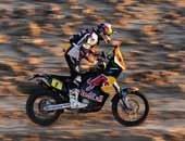 第十赛段摩托组精彩瞬间