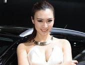 北京车展标致车模