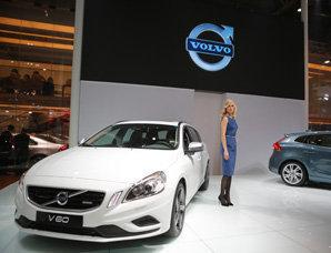 沃尔沃V60 T6 R-Design亮相北京车展