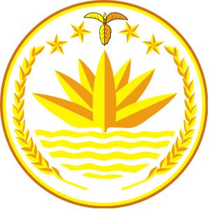 五角星国徽简笔画