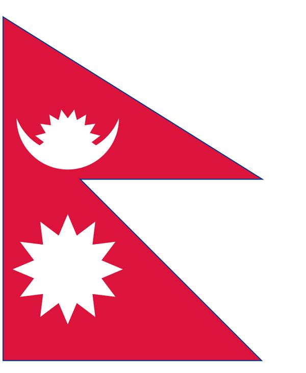 红色国旗简笔画