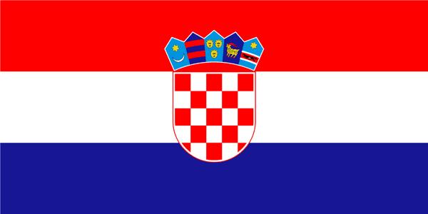 克罗地亚国旗图片