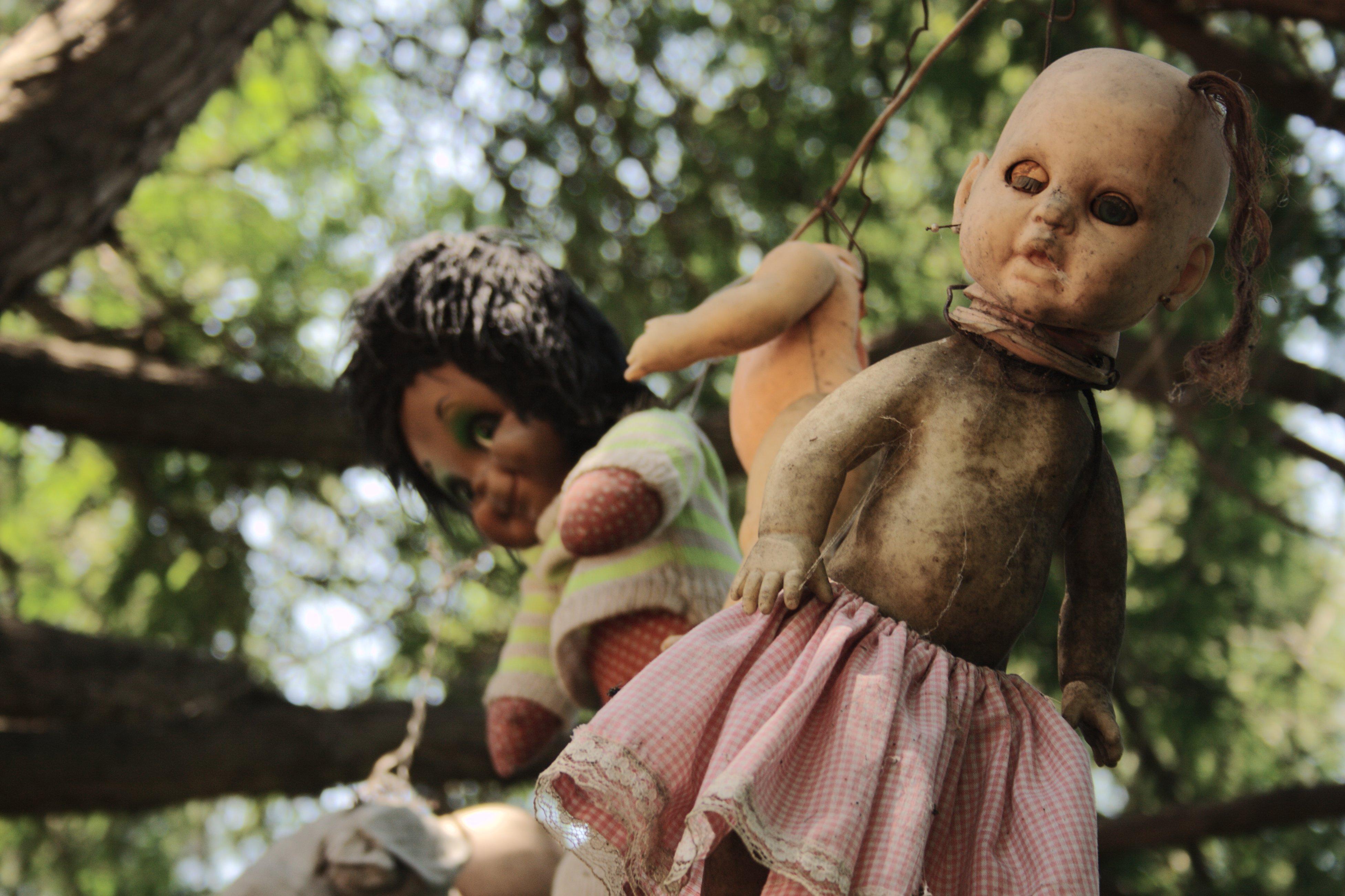 诡异的墨西哥娃娃岛;; 诡异娃娃岛;; 令人毛骨悚然的诡异娃娃岛,慎入!