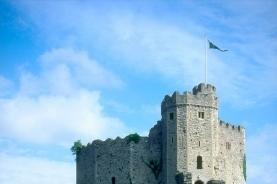 诺曼要塞的卡迪夫城堡