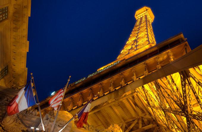巴黎饭店的埃菲尔铁塔