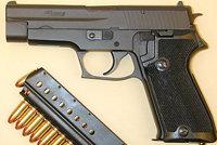 西格P210手枪