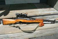 西蒙诺夫SKS半自动步枪