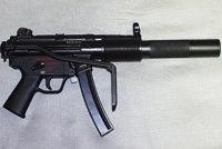 赫克勒-科赫MP5SD冲锋枪