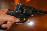 俄罗斯M1895纳甘转轮手枪