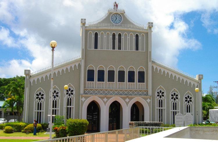 塞班岛的凯悦酒店教堂