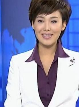 央视主播郑丽生活照