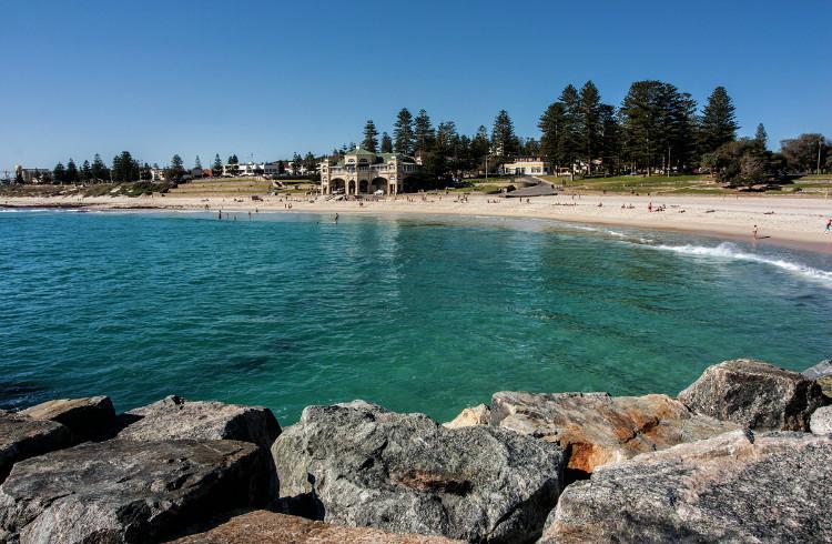 科特斯洛海滩_珀斯_澳大利亚_环球旅行_环球网