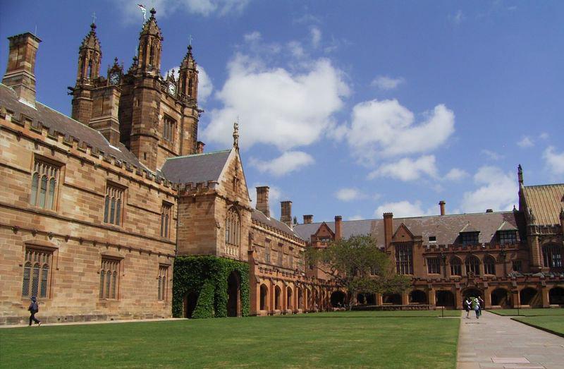 悉尼大学_悉尼_澳大利亚_环球旅行_环球网