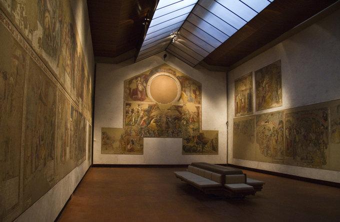 画廊艺术建筑设计效果图展示分享装饰装修工程施工设计内容管理图片