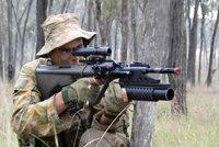 斯太尔-曼利夏AUG自动步枪
