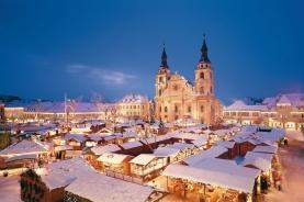 雪中的建筑