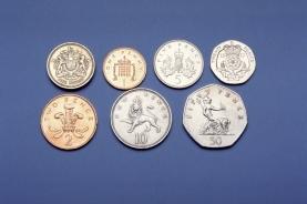 英国货币中的硬币