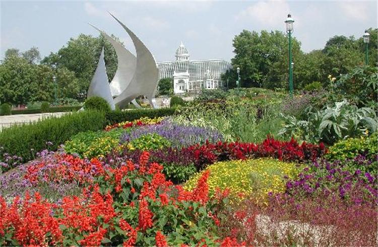 富兰克林公园温室和植物园