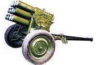 63式107mm牵引式火箭炮