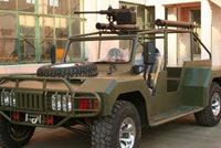 SX-1新型伞兵突击车