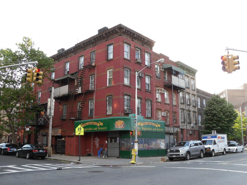 纽约市布鲁克林街区 是富人区