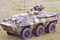 92式轮式装甲车