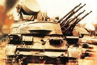 """""""石勒喀""""23毫米自行高炮"""