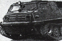 MT-L履带式雪地两栖车