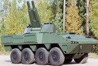 芬兰AMOS自行迫击炮