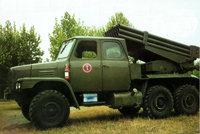 84式122毫米火箭布雷车