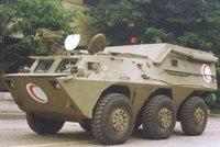 WMZ551JH新型装甲救护车