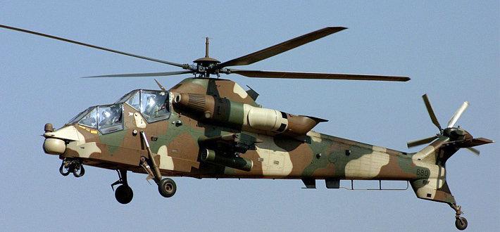 石茶隼武装直升机由南非独立研制,于1984 年立项,1990 年完成首飞。最近,南非国防军石茶隼武装直升机部队的战斗力却受到限制。空军负责人表示, 石茶隼机队曾因保障系统问题一度停飞。 这种直升机不仅缺席了今年6 月到7 月的世界杯比赛期间的空中警戒工作,而且在南非陆军航空部队今年2 月举行的幼鹰演习中也没有发挥重要作用。