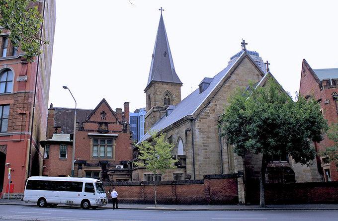 欧式教堂建筑 风景