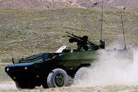 最新外贸型6X6轮式装甲输送车