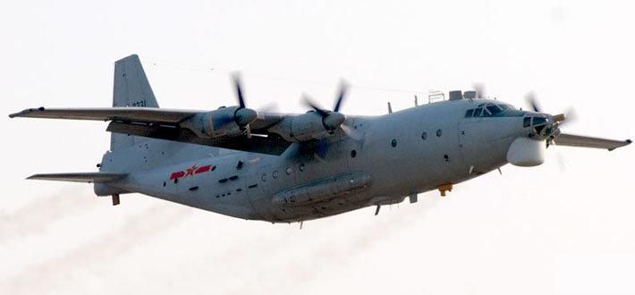 是第一种基于运8的特种用途飞机