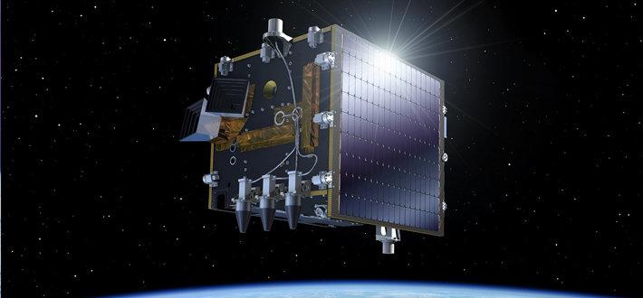 卫星有效载荷中的四个地球观测仪器用来测试平台指向