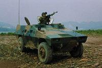 QL550轻型轮式装甲车