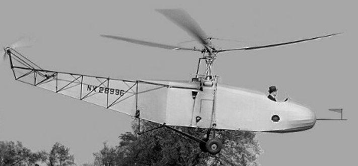 结构特点 这是一架单旋翼带尾桨式直升机