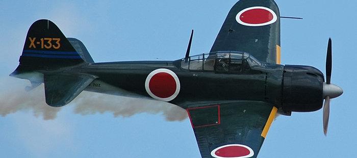 零式战斗机是日本海军航空兵二战期间最著名的飞机