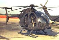 MH-6小鸟式直升机